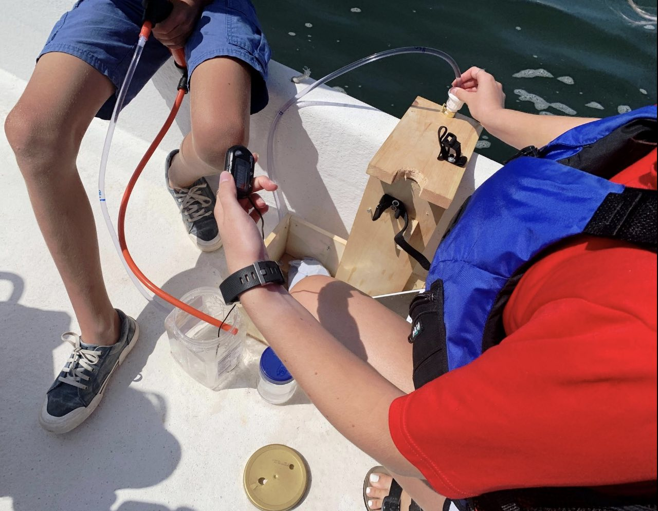 Ipswich High Robotics Team Works On System That May Help Open Clam Flats